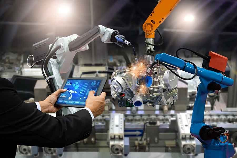 robots automation for job
